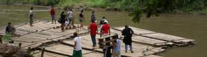 adventure bamboo rafting (slide)