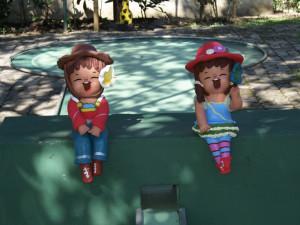 minigolf garden enjoy